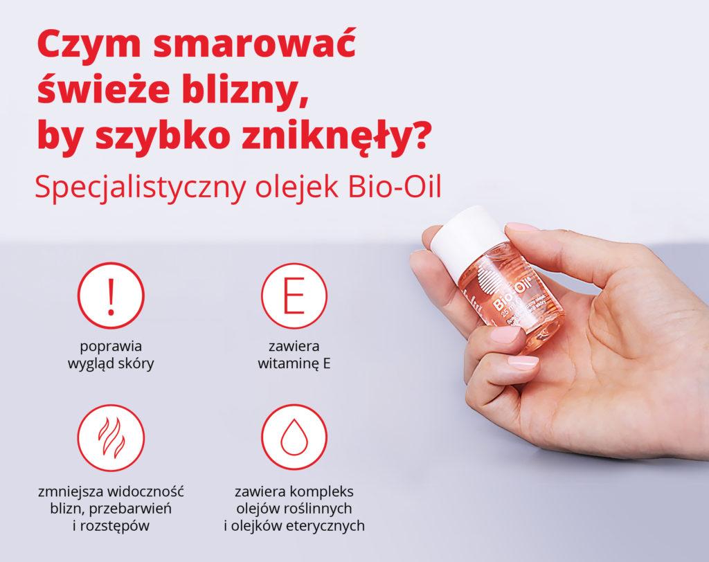 Czym smarować świeże blizny, by szybko zniknęły? Specjalistyczny olejek Bio-Oil